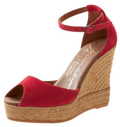 Gaimo Espadrilles Susan Suede High Wedges | Spanish Fashion - SPANISH SHOP ONLINE | Spain @ your fingertips