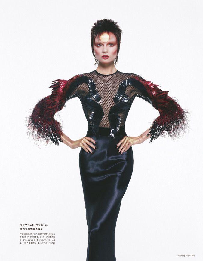 magdalena frackowiak model8 Magdalena Frackowiak Changes it Up for Numéro Tokyo by Sofia & Mauro