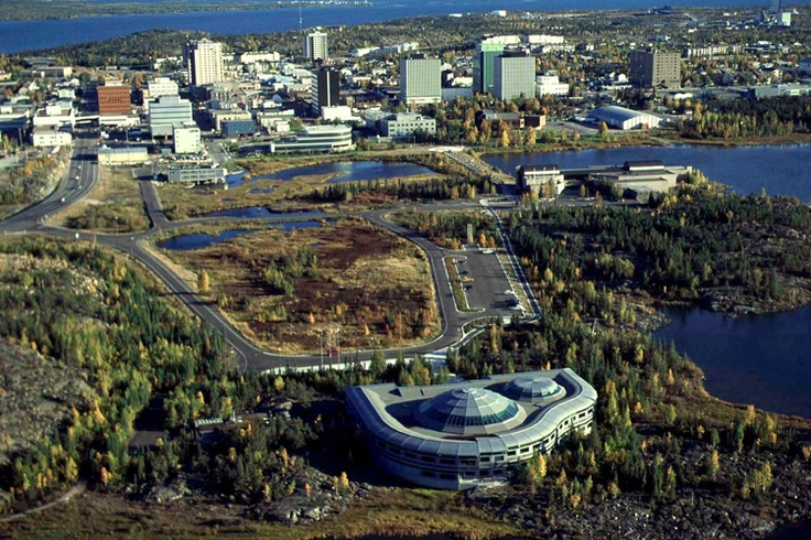 Yellowknife, North West Territories. Canada.
