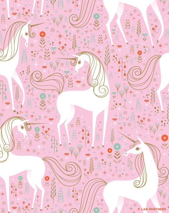 Pitter patter unicorn print!