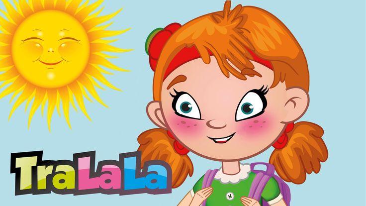 Zilele săptămânii - Cântece pentru copii | TraLaLa