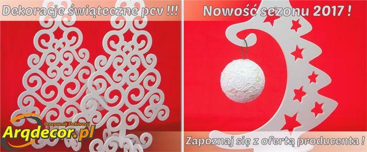 Pracownia Dekoracji ARQ - DECOR - Choinka ażurowa 50 cm ! (NA ZAMÓWIENIE) Dekoracje Świąteczne PCV