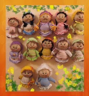 Come fare queste simpatiche bamboline con i collant imbottiti ed opportunamente cuciti. Tutorial fotografico
