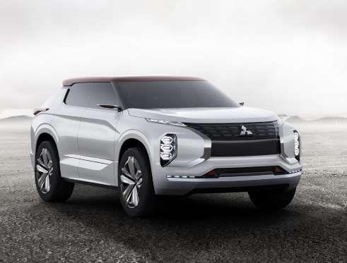 Mitsubishi mostrará em Paris um SUV conceito elérico que deve nortear o visual…