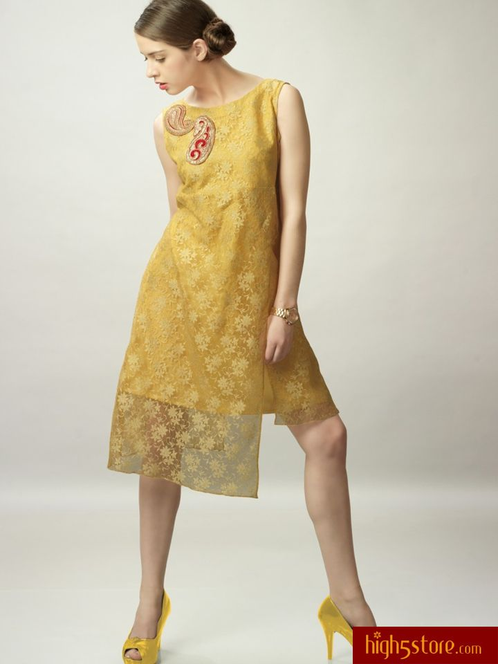 http://www.high5store.com/women-kurtis/308369-yellow-net-jacquard-sleeveless-kurti.html