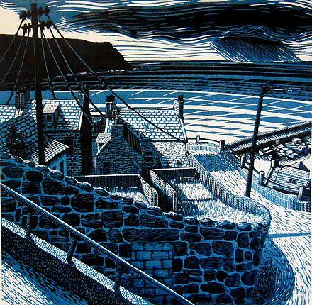 Original lino prints by Scottish Artist Bryan Angus