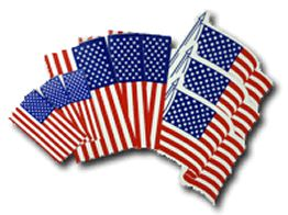 Low Cost Promotional Product: American Flag Stickers by Websticker