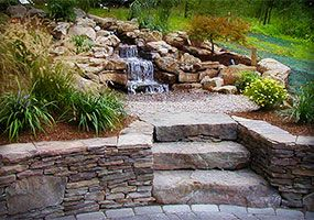 Outdoor Living, New Jersey Landscaping, Green Meadows Landscaping, Inc., Water Fixtures