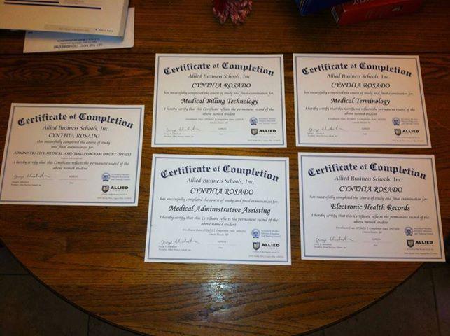 24 best Our Super Graduates images on Pinterest Certificate - medical assistant certificate