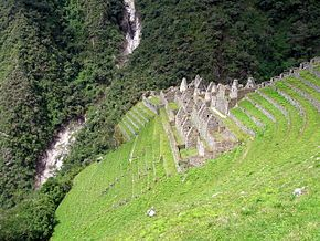 """Wiñay Wayna (2650 m) (Quechua for """"forever #young"""", hispanicized spelling Huiñay Huayna) is an #Inca #ruin along the Inca #Trail to #MachuPicchu. It is built into a steep hillside overlooking the Urubamba #River."""