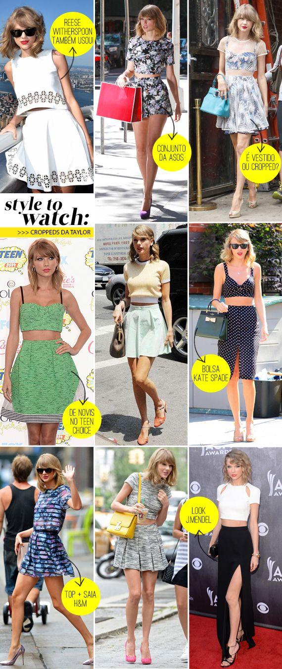 Croppeds e Taylor Swift: uma história de amor! Veja dicas de como usar