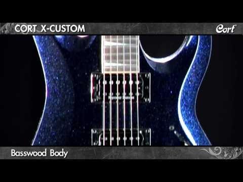 Cort X-Custom Electric Guitar Product Demo