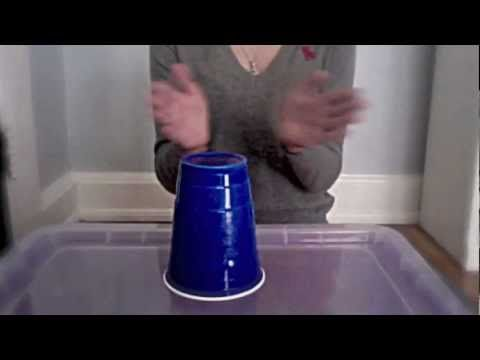How to do the cup song from pitch perfect, originally from Lulu and the Lampshades - YouTube