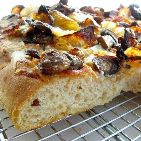 Blitz Pizza Crust: want vs. knead: Blog   King Arthur Flour