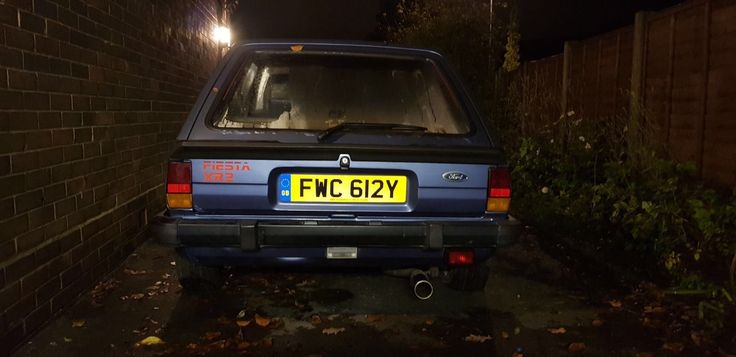 Check out this fast Ford. ford fiesta xr2 mk1