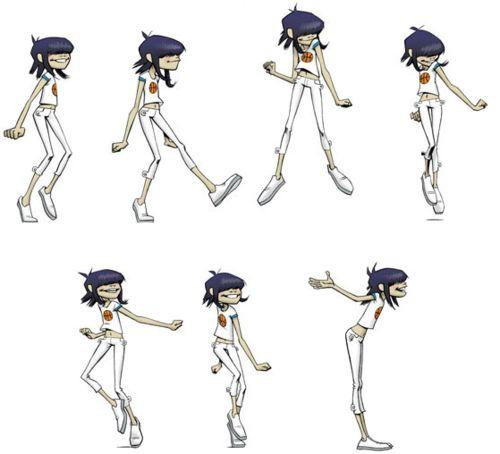 "Character Design Site : ""gorillaz by jamie hewlett website https"