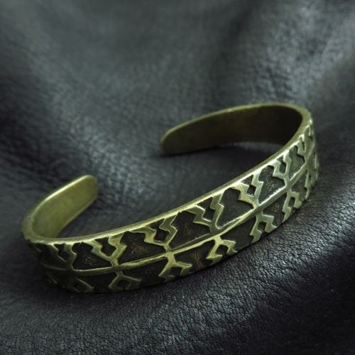 Bronze Viking bracelet from Gotland. Reenactment. Medieval. Norse. Viking. SCA.