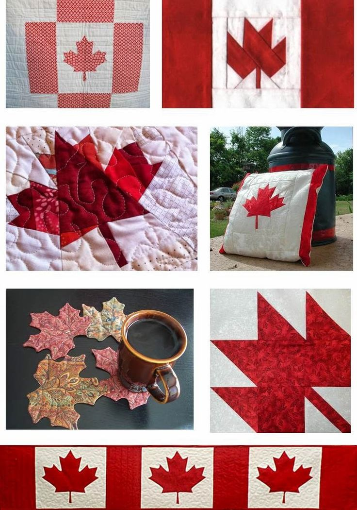 36 best canada images on Pinterest | Good ideas, Canada birthday ... : canadian flag quilt - Adamdwight.com