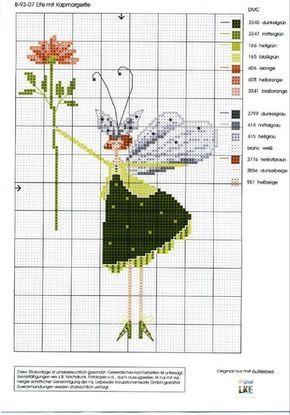Gallery.ru / B-90-07 Elfe mit Margerite - Нина -эльф - Ulrike