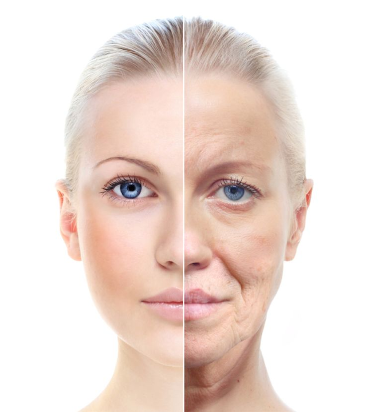 Choosing a lifestyle that includes avoiding food and activities that encourage inflammatory responses in our bodies......Woman's portrait  20,60 years old.