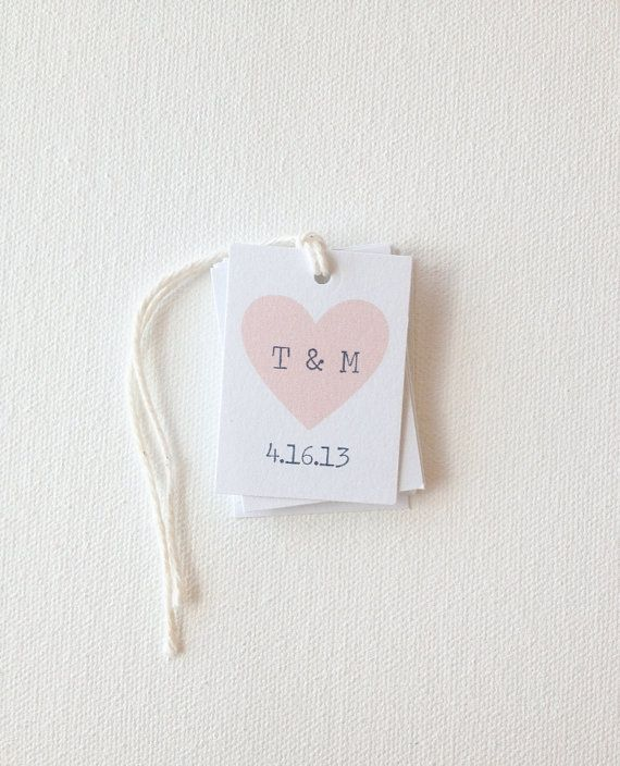 ... favor tags - cards and tags Pinterest Heart, Wedding and Party