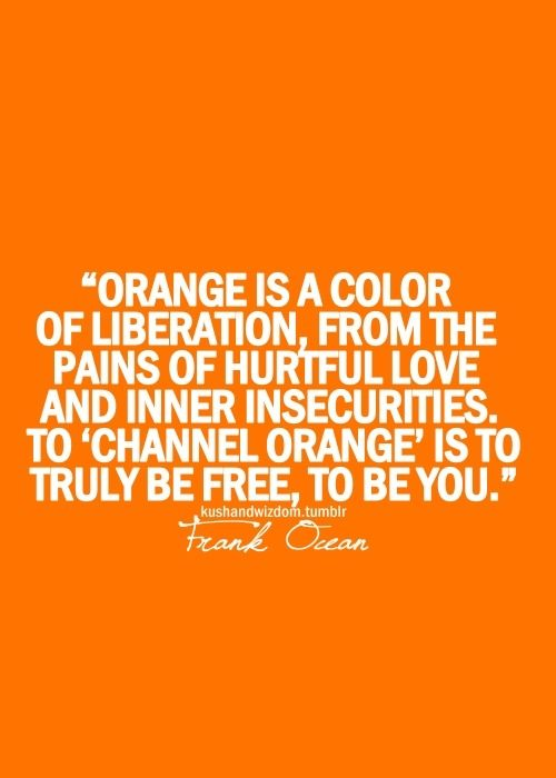Needed to know what was up with buying an orange duvet cover today...good to know :)