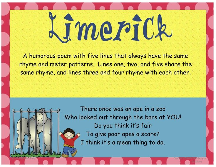 Great teacher blog on different types of poetry.  Examples and you tube videos for kids!