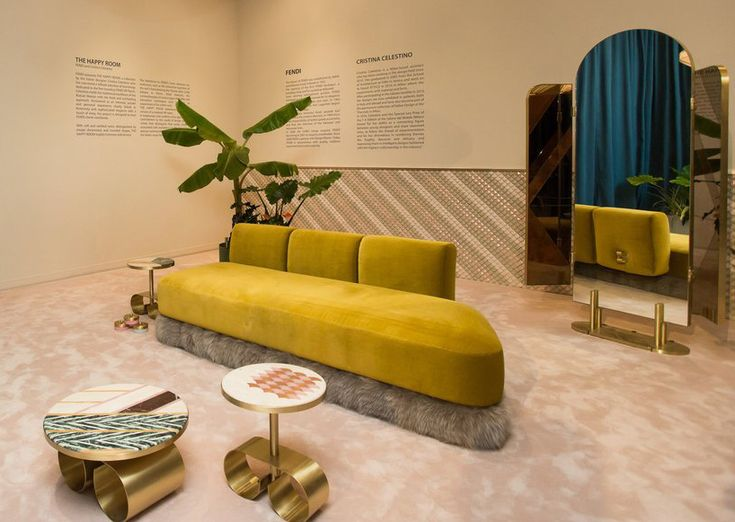 Cristina Celestino Outfits U0027the Happy Roomu0027 For FENDI At Design Miami/ 2016