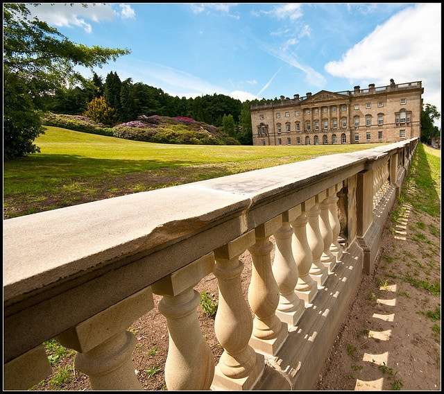 Wentworth Castle, Barnsley:  South Yorkshire  A View of the House by jayteacat, via Flickr