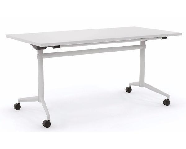 OLG Uni Flip Table in White, Black, Silver or Chrome – Dunn Furniture