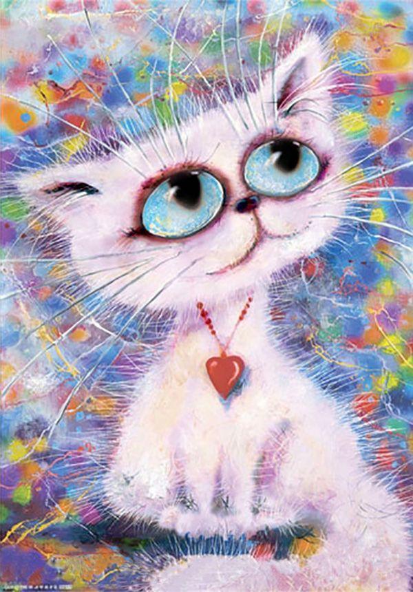 Смешные рисунки котят