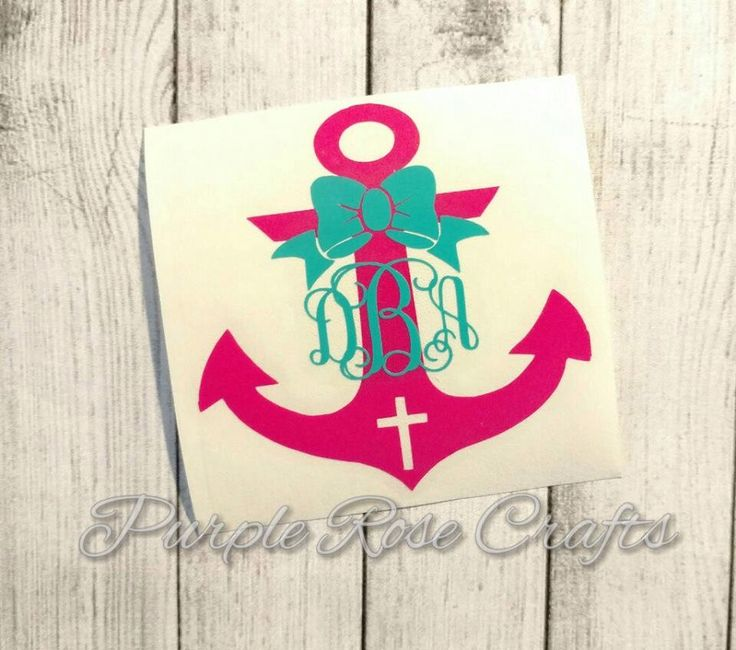 Best Yetti Cups Images On Pinterest Vinyl Decals Anchor - Monogram car decal anchorbestmonograms ideas only on pinterest monogram letters