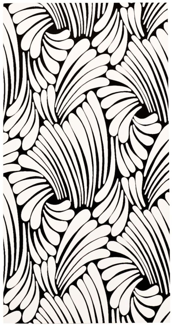great pattern for practicing brush strokes