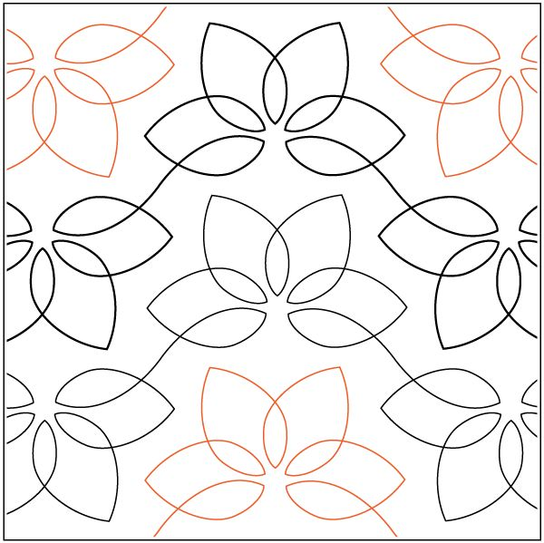 685 best Machine Quilting Patterns images on Pinterest | Free ... : paper pantograph quilting patterns - Adamdwight.com
