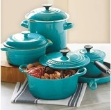 Le Creuset 9-Piece Cookware Set - eclectic - cookware and bakeware - other metro - by CHEFS