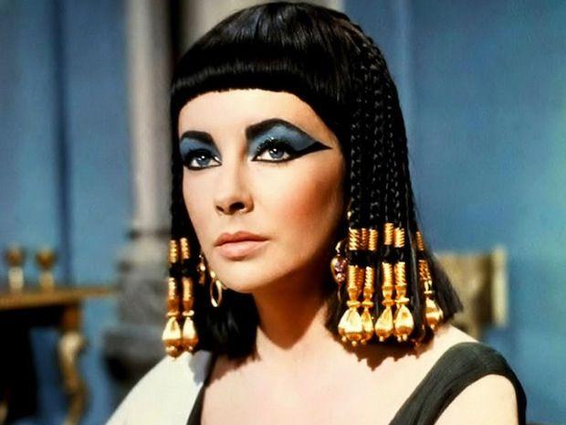 maquillaje-cleopatra-Halloween-2015-elizabeth-taylor - MaquillajeRossa