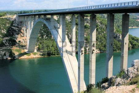 bridge near Skradin, Croatia