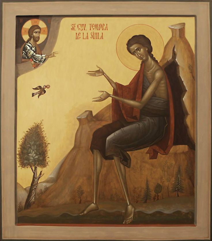 St. Theodora of Sihla by Ioan Popa