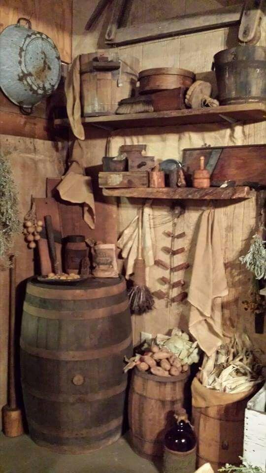 The Wooden Bucket
