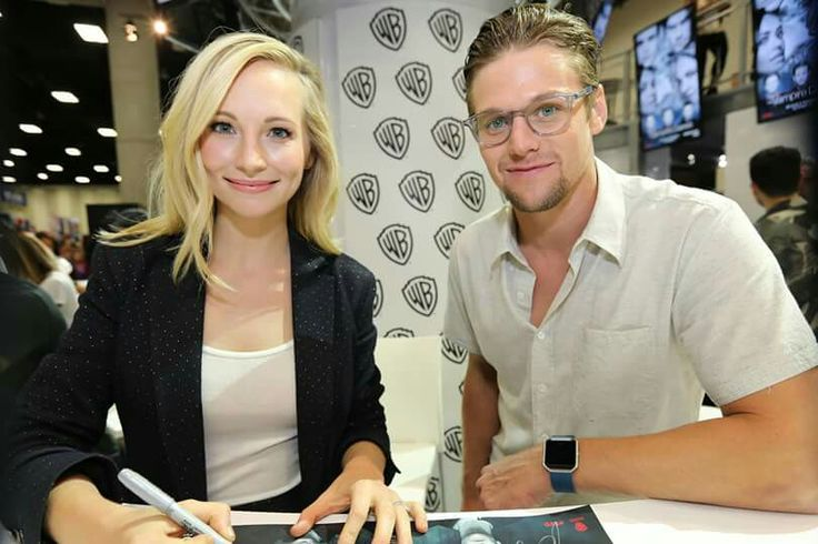 Candice king and zach roerig sdcc 2016