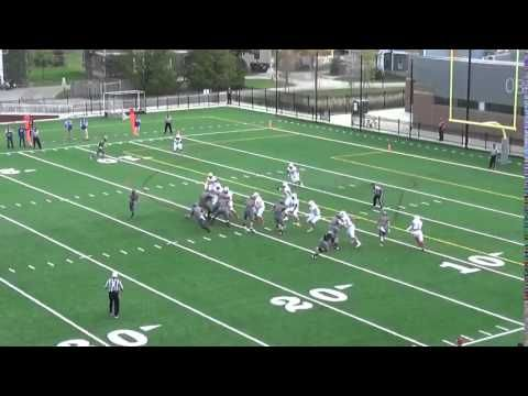 Oberlin College Football Trick Play vs. Wabash - Oct. 10 2015 - YouTube