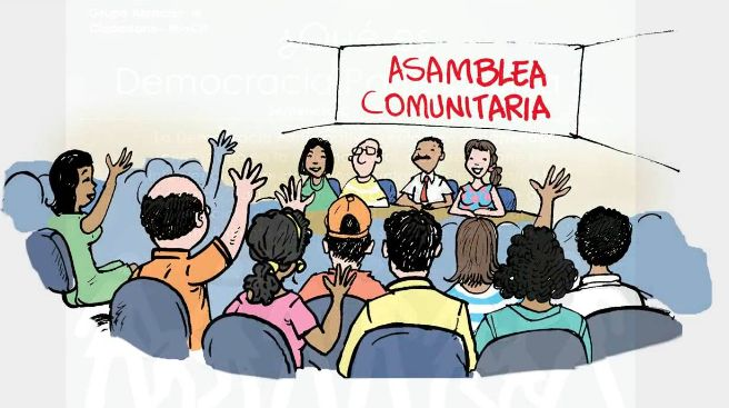 3) Democracia Participativa Es muy parecida a la ...
