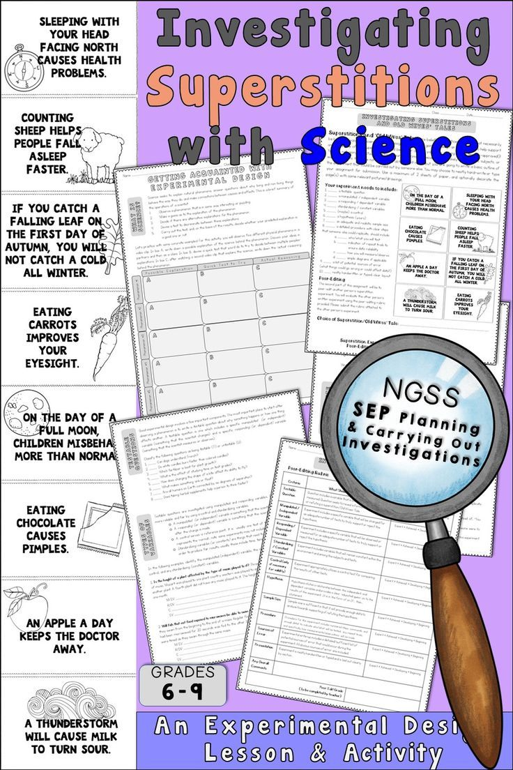 this activity will help guide your students through the experimental design process by providing background information