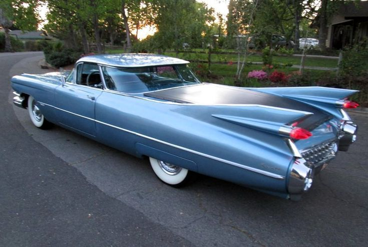 Finned Truck: 1959 Cadillac DeVille - http://barnfinds.com/finned-truck-1959-cadillac-deville/