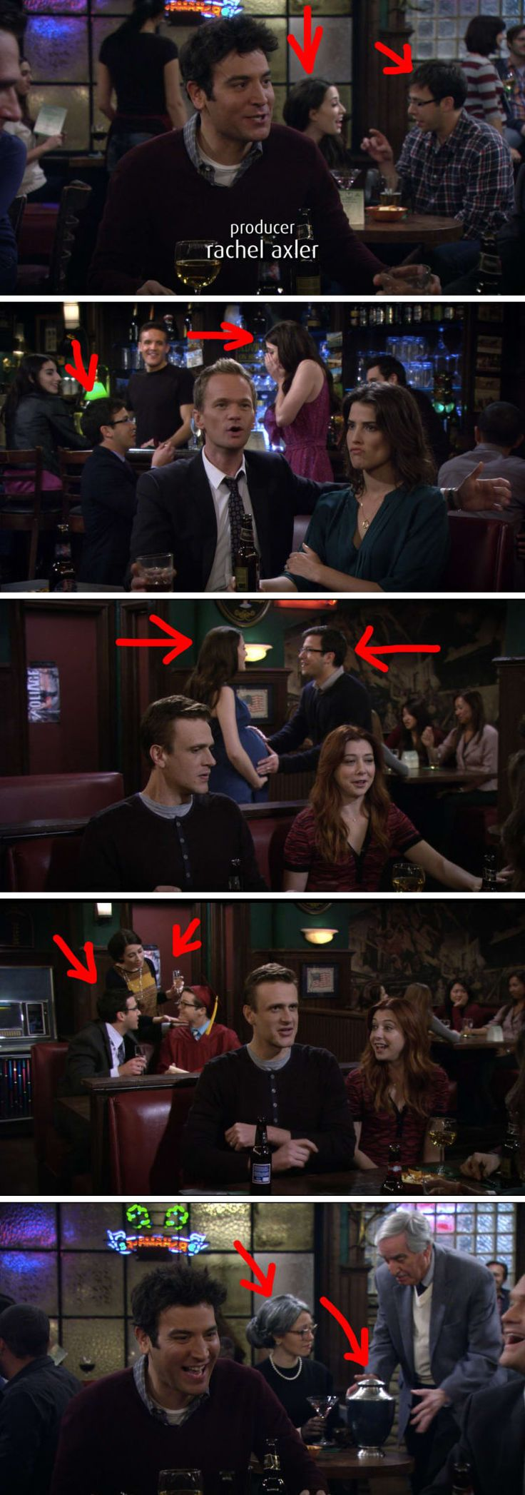 "21 Tiny Little Things You Never Noticed In ""How I Met Your Mother"""