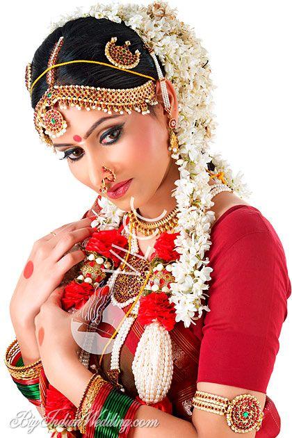 VLCC bridal makeup for Tamill brides