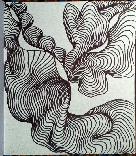 Abstract Line Art Paintings : Line lines draw graphics drawing abstraction abstract