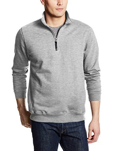 Charles River Apparel Men's Big Crosswind Quarter Zip Sweatshirt, Oxford Grey, X-Large:   A quarter-zip sweatshirt with relaxed styling, perfect for work or play. Made of soft ring-spun cotton, and exclusively from Charles river apparel. Offered in ten colors and sizes down to xx-small, and up to 4xl. When looking for quality apparel, look to Charles river apparel. Charles river apparel infuses their clothing with technology, performance, and contemporary style. Traditional new England...
