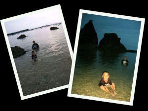 Pantai Tanjung Layar, Sawarna, Banten, Indonesia