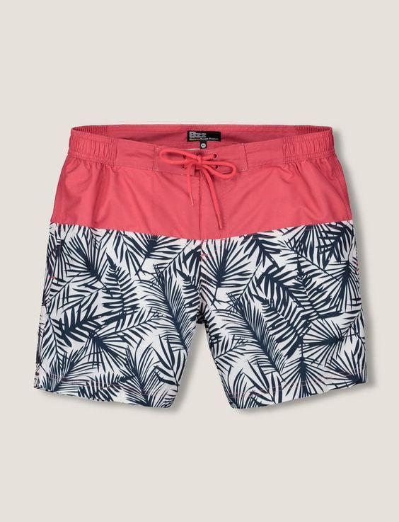 Macho Moda - Blog de Moda Masculina  Tendências Masculinas para o VERÃO  2018 - Roupa de Homem. Moda Masculina Verão 2018. Shorts Tropical Masculino b42901a6ccd